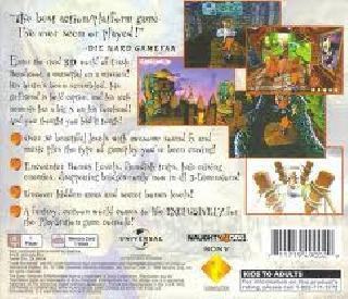 Screenshot Thumbnail / Media File 1 for Crash Bandicoot [U]